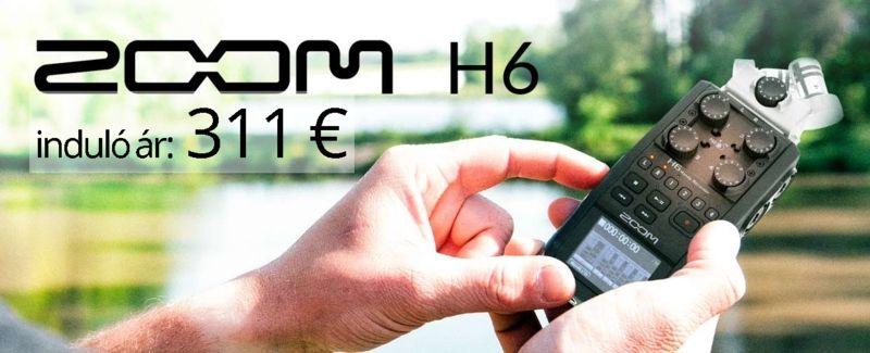 Aktuális termékajánlatok Zoom H6
