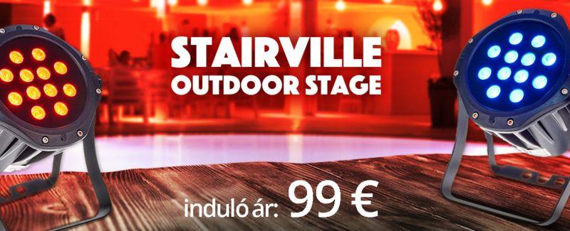 Aktuális termékajánlatok Stairville Outdoor Stage Par 12x3W Tri
